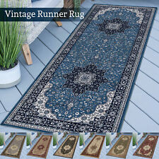 Large Non-Slip Hallway Runner Rug New Vintage Style Carpet Living Room Floor Mat