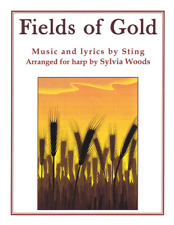 Fields of Gold Harp Solo Sheet Music