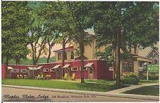 Maples Motor Lodge in Wisconsin Dells WI Roadside Postcard