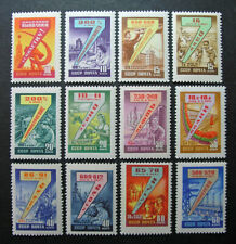 Russia 1959-1960 #2244-2255 MNH OG Russian 7 Year Production Plan Set $10.00!!