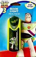~ Kid's Book Light Disney Pixar [Toy Story 3 Buzz Lightyear] LED Clip On Gift