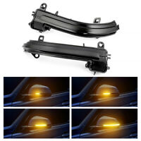 2 Dynamic Mirror Side Turn LED Indicator Light For BMW 1/2/3 F20 F21 F30 F31 F35