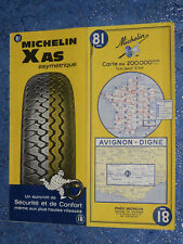 Carte  MICHELIN 81 Avignon Digne 1968