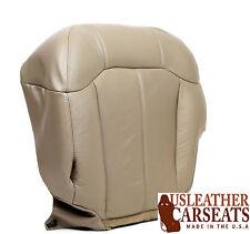1999 2000 2001 GMC Sierra Yukon Tahoe Driver Side Bottom Leather Seat Cover Tan