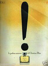 Publicité advertising 1972 Parfum Diorella de Christian Dior par René Gruau
