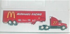 1993 Racing Champions McDonalds Racing Team #27 Ltd. Ed. Semi Truck Bank, NIB
