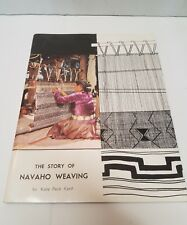 The Story of Navajo Weaving by Kate Peck Kent Book Perfect condition Nice Photos