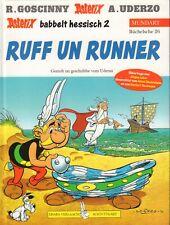 ASTERIX MUNDART 26 - RUFF UN RUNNER (ASTERIX BABBELT HESSISCH 2)