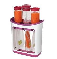 Infantino Squeeze Station puree pouch baby food smoothies drink fresh