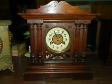Gorgeous Working Teutonia Phillip Haas & Sohne Germany Mantle Clock