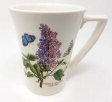 Portmeirion Botanic Garden - Tall Tea/Coffee Mug - Garden Lilac - Very Good Cond