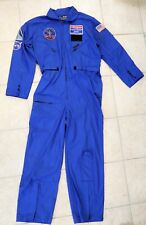 Nasa Space Camp Huntsville Alabama Patches Jumpsuit Space Gear Blue