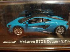 McLaren 570S Coupé 2016 Colección Supercars Salvat 1:43