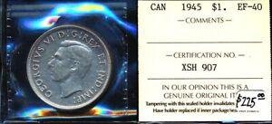 CANADA 1945 $1 (ICCS ) CV $225 USD > NICE > SEE IMAGES > NO RSRV