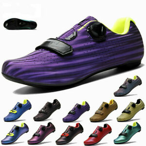 Men's Road Cycling Shoes Outdoor Bicycle Sneakers Professional Racing Bike Shoes