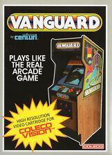 VANGUARD for Colecovision / ADAM Cartridge.  NEW / CIB, NO SGM needed