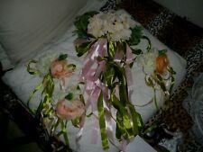 KIT Voiture Décoration mariage de fleur Ornements de fleurs de soie pour mariage