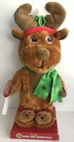 """Kids Stuff Animated Christmas Reindeer Toy Sing and Dance Pals """"Jingle Bells"""""""