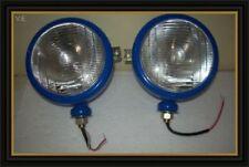 Ford Tractor Head Light Set Blue color (LH + RH) - 12 V