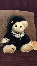 Brass Button Collectable Plush Stuffed Bear Bianca NWT