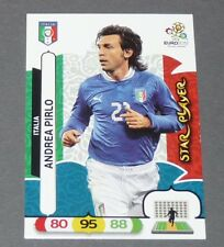 PIRLO STAR PLAYER ITALIE ITALIA AZZURRI FOOTBALL CARD PANINI UEFA EURO 2012