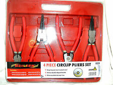 Large Circlip Plier Set, 90 Degree Tips, With Molded Storage Case, NEW UK STOCK
