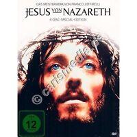 DVD-Set: JESUS VON NAZARETH (4 DVDs) - Special-Edition - Franco Zeffirelli °CM°