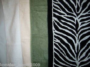 HAND TOWELS & WASH CLOTHS - DESIGNER (NEW)
