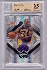 2009 Panini Limited Threads Kobe Bryant Jersey #d 8/10  BGS 9.5  Old Jersey #