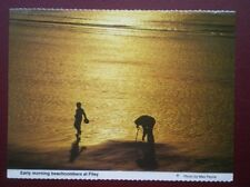 POSTCARD YORKSHIRE FILEY - EARLY MORNING BEACHCOMBERS