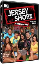 Jersey Shore: Season Five Uncensored [3 Discs] (2012, DVD New)