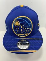 New Era NBA 9FIFTY Blue & Yellow SnapBack Flat Bill Cap Philadelphia 76ers!