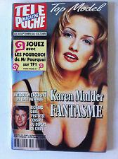 Télé Poche 25/09/1995 K.Mulder/R.Gere/P.Newman/P.Lorre