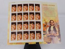 JUDY GARLAND - FULL SHEET OF STAMPS - 39 CENT - $7.80 FACE VALUE