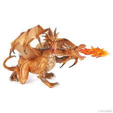Papo Fantasy 38938 zweiköpfiger Drache Gold