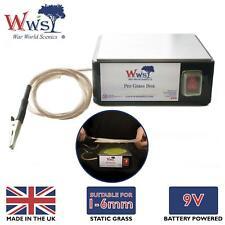 WWS Aplicador Pro Grass Box hierba estática – Modelismo Ferroviario, Wargaming