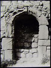 Glass Magic Lantern Slide ST PAULS CHURCH & MONASTERY JARROW NO5 C1890 PHOTO