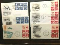 FDC San Antonio TX,1958. Booklet pane of the 7 cent & 1973 LOT-FINE -FREE SHIP