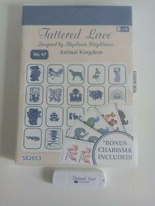 Tattered Lace USB no. 47 Animal Kingdom (inc Charisma)