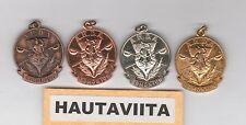 Scottish AHDA Alberta Highland Dance Medals Edmonton BronzeSilver Gold 1950-60s
