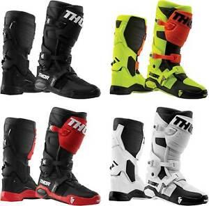Thor Radial Boots - MX Motocross Dirt Bike Off-Road ATV Mens Gear