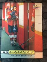 UPPER DECK 2019-2020 SERIES ONE VINCENT TROCHECK CANVAS HOCKEY CARD C-19