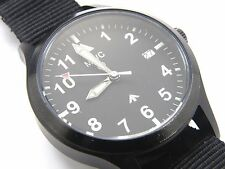 Gents's MWC MKIII Automatic Military PVD Pilot Navigator Watch DATE - 100m