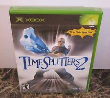 TimeSplitters 2 (Xbox) 1st Print. RARE. MINT!
