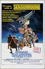 BATTLESTAR GALACTICA original 1978 one sheet movie poster CYLONS/RICHARD HATCH
