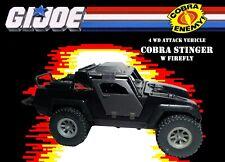 GI Joe 1984 Cobra Stinger w Firefly v13 Vintage Hasbro Cobra 4wd