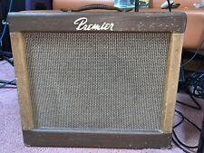VINTAGE GUITAR Amplifier PREMIER B-160 CLUB BASS COMBO AMP 1964 JENSEN Speaker