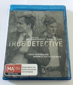 True Detective Season 1 Blu Ray NEW & SEALED*** MA15+ Region B HBO Show Drama