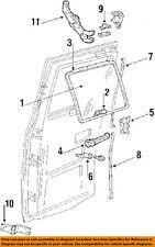 GM OEM BACK DOOR-Hinge Assembly Right 15725884