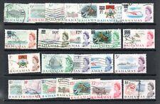 Bahamas QEII 1966/67 to $1 used